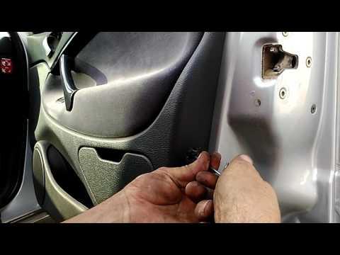 Как снять обшивку задней двери ситроен с5 фотка