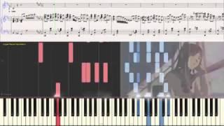 Помни обо мне (Романс) (Ноты и Видеоурок для фортепиано) (piano cover)