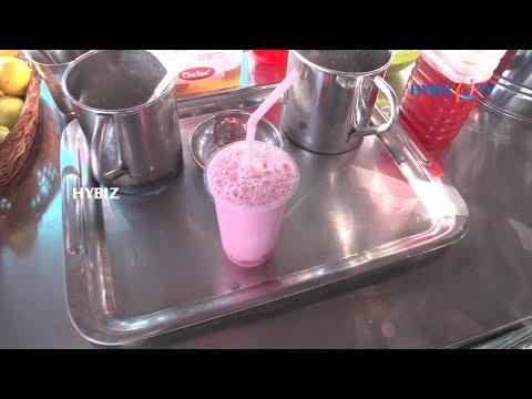 , Healthy Rose Milk Drink Recipe