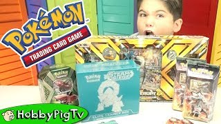 HobbyDad and HobbyPig do a MEGA box opening of Pokemon Trading Card Game packs. Click here to Subscribe:...