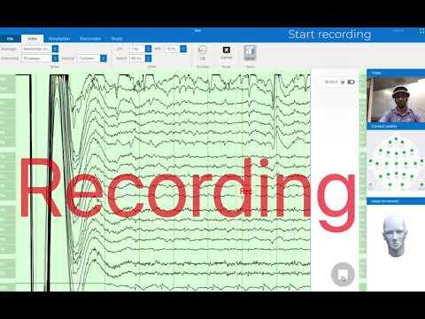 Watch 'Zeto software demo for recording EEG'
