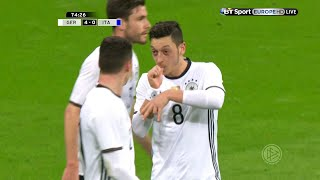 Mesut �zil vs Italy Home 1516 HD 720p  English Commentary