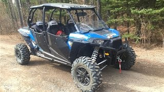 1. 2016 Polaris RZR XP4 1000 4x4 at Maclean Creek, Alberta