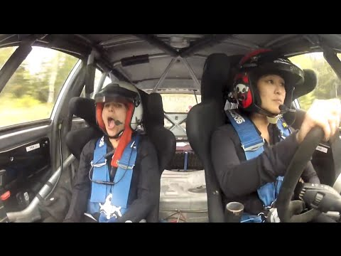 Wild Ride In Verena Mei's Rally Car