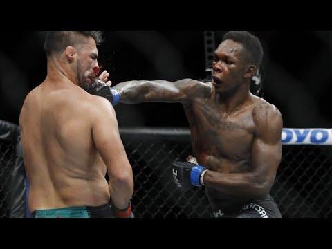 Israel Adesanya vs Kelvin Gastelum full fight highlights