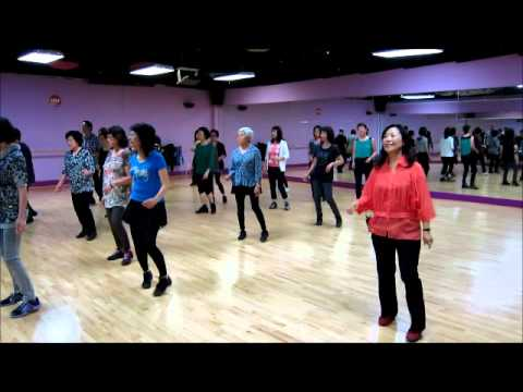 Pontoon ~ Gail Smith – Line Dance (Walk thru & Danced)