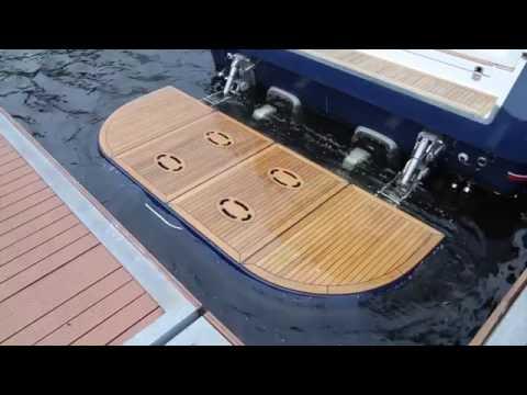 платформа для рыболовной лодки