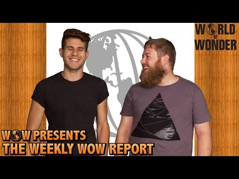 WOWPresents The Weekly WOW Report - La Toya Jackson, RuPaul's Drag Race, Hot Cartoons, & More!