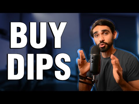 Buying the BITCOIN and ALTCOIN Dip (Beginner Tutorial)