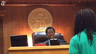 Video 'To treat a puppy that way,' judge tells dog killer, 'that scares me for you' MP3, 3GP, MP4, WEBM, AVI, FLV Maret 2018