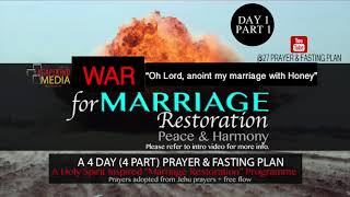 Video WAR For Marriage Restoration (Day 1): Call Forth Your Marriage MP3, 3GP, MP4, WEBM, AVI, FLV September 2019