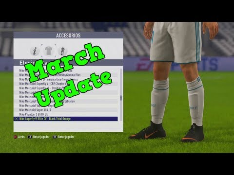 FIFA 18 | New Boots March Update (Unlocked Hidden Boots)