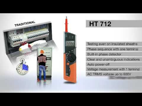 HT 712 PEN DIGITAL MULTIMETERS
