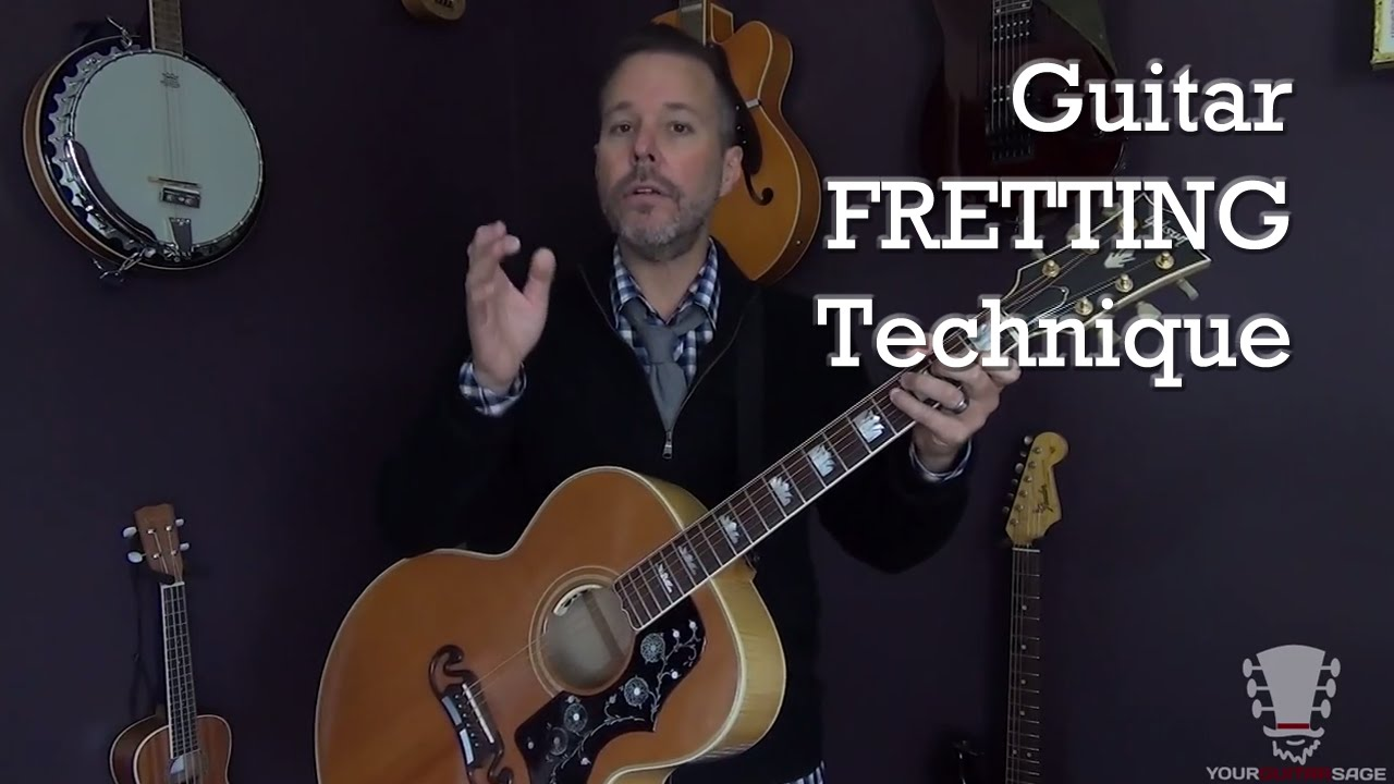 Guitar Fretting Technique – Beginner Guitar Lesson