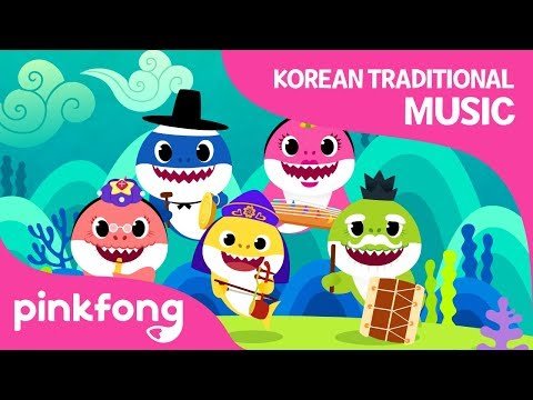 Shark Family's Concert | Baby Shark | Korean Traditional Music | Pinkfong Songs for Children - Thời lượng: 111 giây.