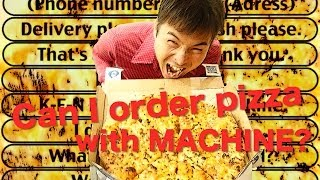 [EN] New Japanese Pizza Ordering Technology! Wow. So Invention.