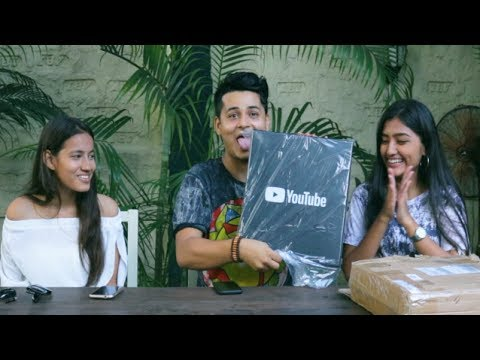 (UNBOXING SILVER PLAY BUTTON WITH FANS - Duration: 4 minutes, 16 seconds.)