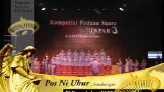 HKBP Sudirman Jakarta in Festival UNPAR III a.DAT (Pos ni uhur)