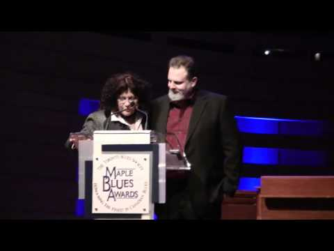 Rita Chiarelli and Bill Johnson Maple Blues Awards