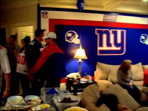 NY GIANTS VICTORY 2012 – BEST  CATALANO SUPERBOWL PARTY!!.wmv