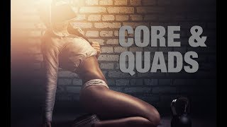 The best flat abs and toned thighs workout can be found in our 90 day fitness and nutrition program http://athleanx.com/x/flat-abs-and-toned-thighsThis core and quads routine works both abs and thighs using the very same exercises. You'll be surprised what an intense flat abs workout you can get with just a few toned thighs exercises.  These thighs and abs exercises will help you get the strong sexy abs and legs you are after.There are three abs and legs exercises in this core and quads workout.  You'll do 10-12 reps of each of the abs and thighs exercises followed by 1 minute recovery. After the recovery you'll start the next round of this thighs and abs workout.  If you are a beginner try to do 1-2 rounds of this abs, butt and thighs routine. If you are more advanced you can do 3-5 rounds of these thighs and abs exercises. If you are looking for a full flat abs workout and toned thighs workout, check out our complete Athlean-XX for Women program https://athleanx.com/best-workout-program-for-women/getleanHere are the legs and abs exercises that make up this abs and thighs workout:1) Overhead Weighted Back Lunge2) Shoulder Level Weighted Back Lunge3) Hip Level Weighted Back Lunge4) 1 Minute RecoveryFor all the best abs and thighs workouts subscribe to our Youtube channel https://www.youtube.com/user/womensworkouts