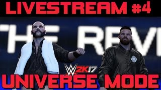 WWE 2K17 UNIVERSE MODE #4 - TAG TEAM & INTERCONTINENTAL CHAMPIONS CROWNED! 9 TO 5 CALLS OUT DANGER! #GCW RAW IS WAR EPISODE #4 DONATIONS ARE NEVER EXPECTED B...