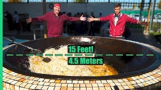 Video Asia's Biggest Frying Pan! Over 3,000 POUNDS of Rice and Meat Cooked Each Day! MP3, 3GP, MP4, WEBM, AVI, FLV Agustus 2019