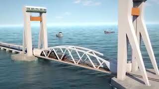 The Pamban Sea-Bridge