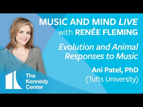 """Music and Mind LIVE with Renée Fleming, Ep. 9 - """"Evolution and Animal Responses to Music"""""""