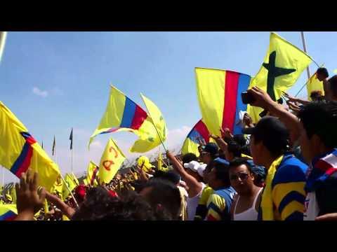 Pumas vs America Ritual del Kaoz en CU 2012 - Ritual Del Kaoz - América
