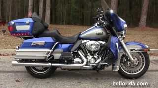 9. Used 2009 Harley Davidson Ultra Classic Motorcycles for sale in Georgia