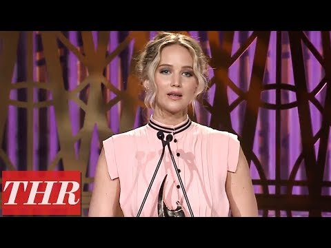 Jennifer Lawrence Full Acceptance Speech At The Hollywood Reporter'S Women In Entertainment 2017 - Movie7.Online