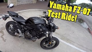 10. Yamaha FZ-07 Review! The Best Beginner Bike?