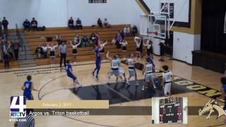 Argos Boys Basketball vs Triton