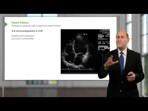 Testing of Heart Failure – Cardiology | Lecturio
