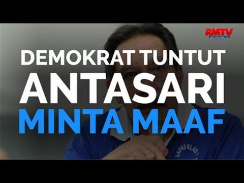 Demokrat Tuntut Antasari Minta Maaf