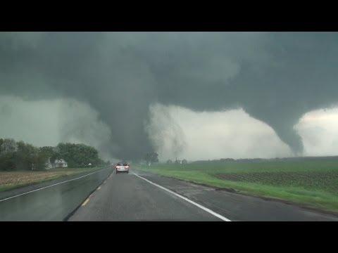 SHOCKING: TWIN tornadoes ravage Pilger, NE