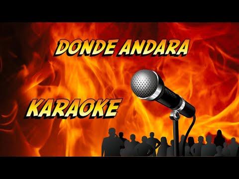 DONDE ANDARA  -   KARAOKE  -  VISCONTI