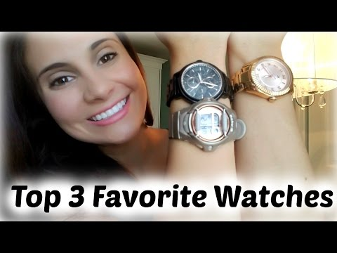 , title : 'Top 3 Favorite Watches | 2016'