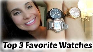 Top 3 Favorite Watches | 2016