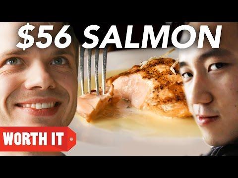 $8 Salmon Vs. $56 Salmon (видео)