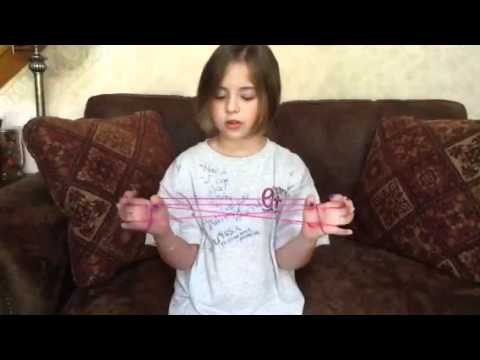 How to do Jacob's Ladder String Figure, step by step
