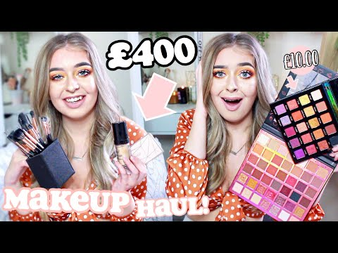 SIS SHE AIN'T PLAYING... I got £400 worth of MAKEUP for how MUCH?! HUGE BEAUTYBAY … видео