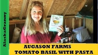 Augason Farms Review Basil Pasta Soup Meal Packet Augason Farms http://amzn.to/2tsjJeA are nearly complete meals just add ...