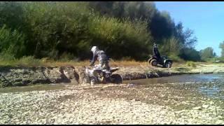 8. Kymco Maxxer 450i & Yamaha Grizzly 450 ATV QUAD