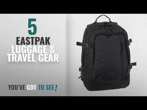 Top 10 Eastpak Luggage & Travel Gear [2018]: Eastpak Volker Backpack One Size Black2