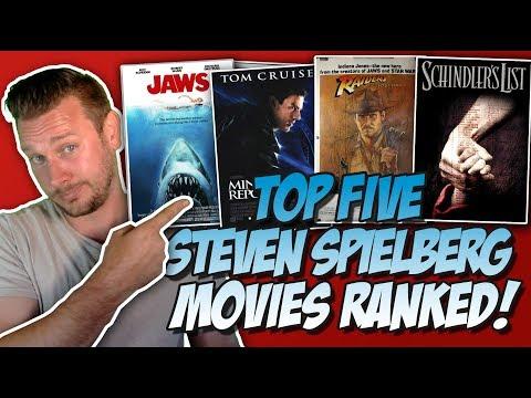 Top Five Steven Spielberg Movies Ranked!