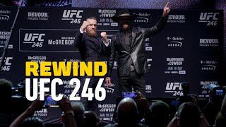 UFC 246 Rewind: Conor McGregor Knocks Out 'Cowboy' Cerrone by MMA Fighting