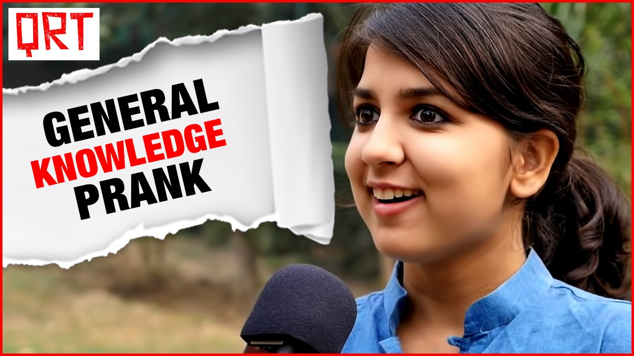 FUNNY IQ TEST   Awkward General Knowledge Prank   Pranks in India   Social Experiment in India