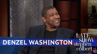 Video Denzel Washington's Dinner Table Has Seen Some Legends MP3, 3GP, MP4, WEBM, AVI, FLV Juli 2018